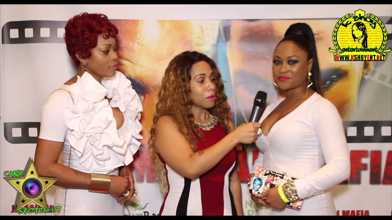 Jamaican Mafia Movie Red Carpet NY:  Martina Startina & Melesia Terry Thomas interview!