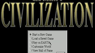 Civilization for Windows gameplay (PC Game, 1993)