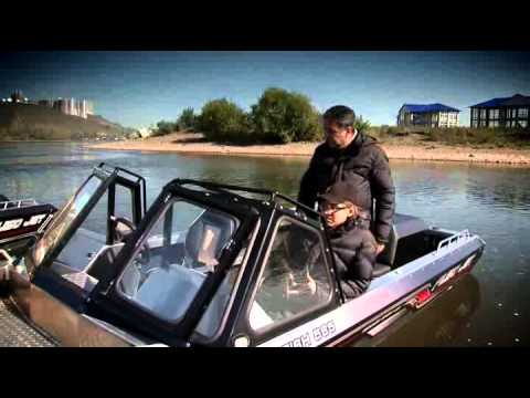 Водометный катер Fish-565