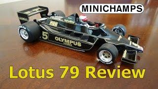 Minichamps Review, JPS Lotus 79 1/18 (1978)