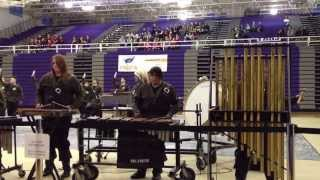 Indoor Winter Drum Line Council Bluffs Thomas Jefferson at Bellevue East