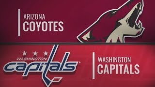 Вашингтон vs Аризона | Arizona Coyotes at Washington Capitals | NHL HIGHLIGHTS|НХЛ ОБЗОР МАТЧА