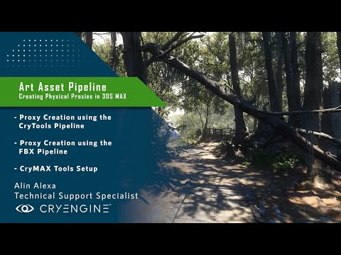 CRYENGINE Tutorial - Art Asset Pipeline: Collision Proxies (3DS Max)