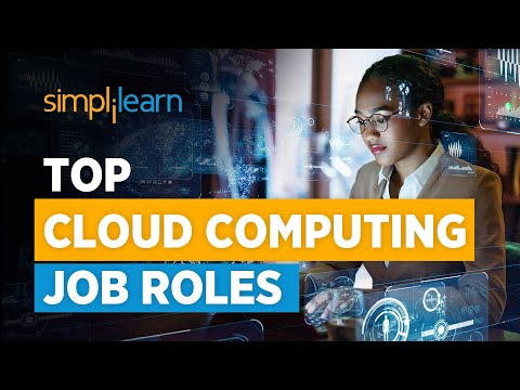 Cloud Computing Job Roles | cloud computing jobs And Salary | Cloud Computing Career | Simplilearn