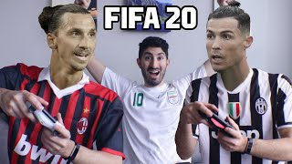 CRISTIANO RONALDO PLAYS FIFA 20 WITH ZLATAN IBRAHIMOVIC