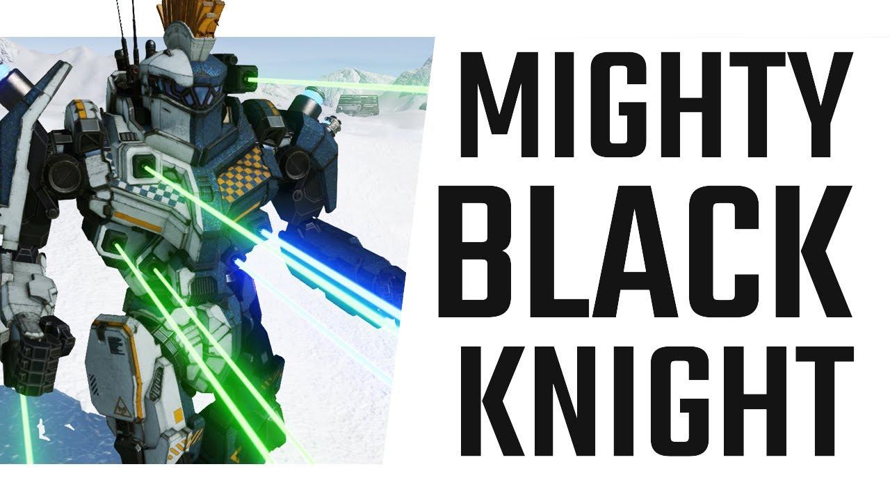 Mighty Black Knight Laser Build - Mechwarrior Online The