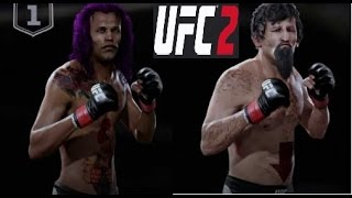 EA Sports UFC 2 Ultimate team Gameplay