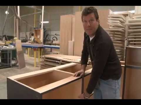 bradco kitchens custom cabinet factory.flv - youtube