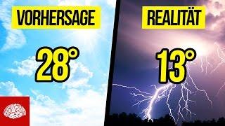 Sind Wettervorhersagen falsch?