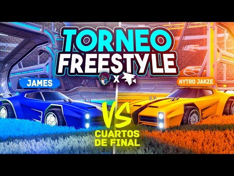 JAKZE VS JAMES 🏆 CUARTOS DE FINAL TORNEO DE FREESTYLE 1vs1   FLAMEC x DUALVIEW   ROCKET LEAGUE