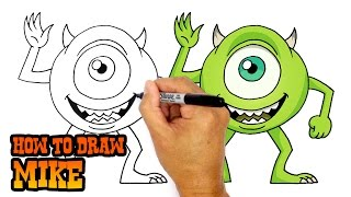 How to Draw Mike | Monsters Inc.