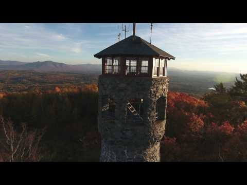 New Hampshire Weeks State Park Mount Prospect 10-17-16
