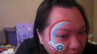 Fourth of July eye design idea - Face Painting tutorial Thumbnail