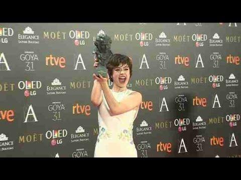"""Anna Castillo, Goya a la mejor actriz revelación por """"El olivo"""""""