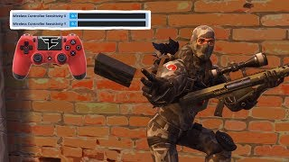Winning a Game with MINIMUM SENSITIVITY on Console (x & y)