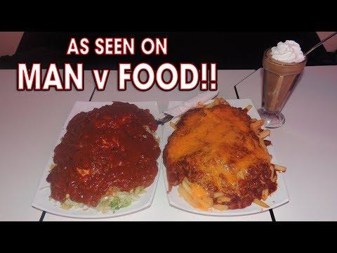 Rockies' Man vs Food Challenge in Boise, Idaho!!