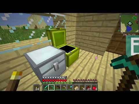Sezon 8 Minecraft Modlu Survival Bölüm 6 - Elma Kılıcı