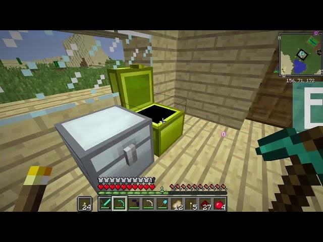 Sezon 8 Minecraft Modlu Survival Bölüm 6 - Elma K?l?c?