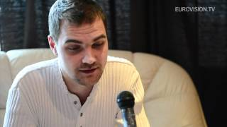 Interview with Ott Lepland (Estonia) 2012 Eurovision Song Contest