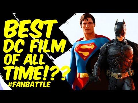 Best DC Movie Of All Time?! FAN POLL VOTE! FAN BATTLE!