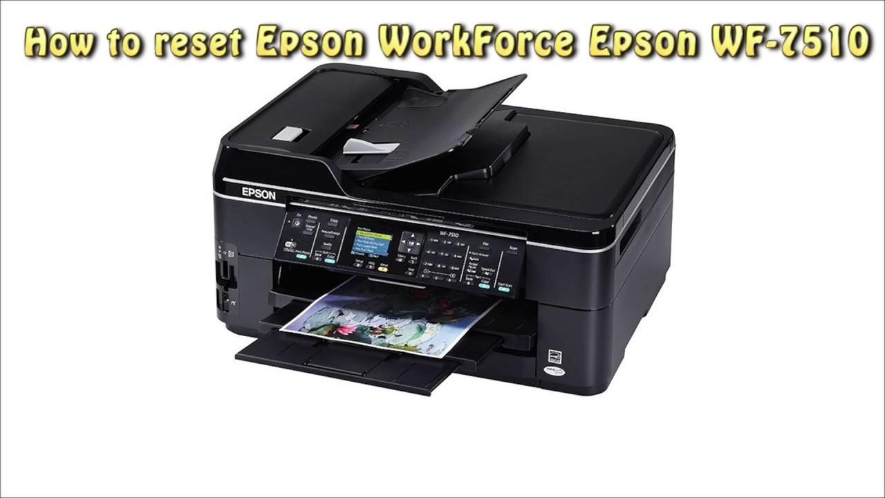 EPSON WF-7510 WINDOWS VISTA DRIVER