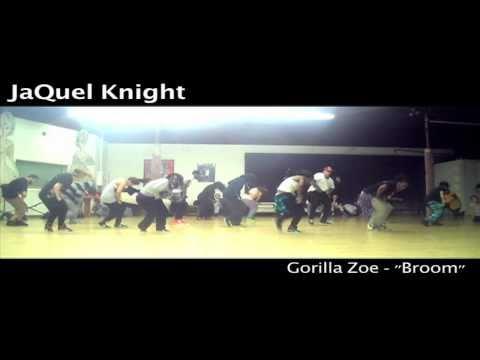 "JaQuel Knight teaches ""Broom"""