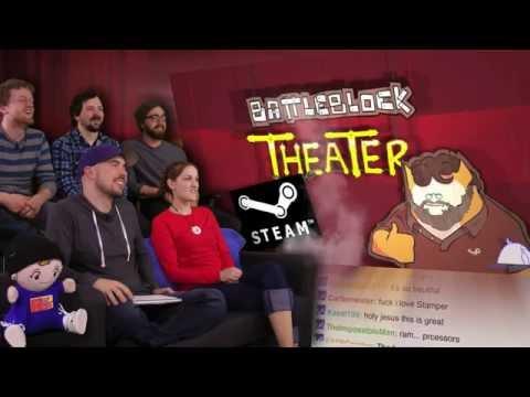 Battleblock Theater STEAM... version! - Pre PAX East 2014 Show and Trailer! - Part 22