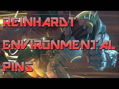 Reinhardt Environmental Pins on ALL Maps! [When, Where & How to Perform Them]