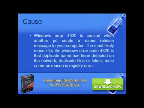 Fix windows login error code 4320