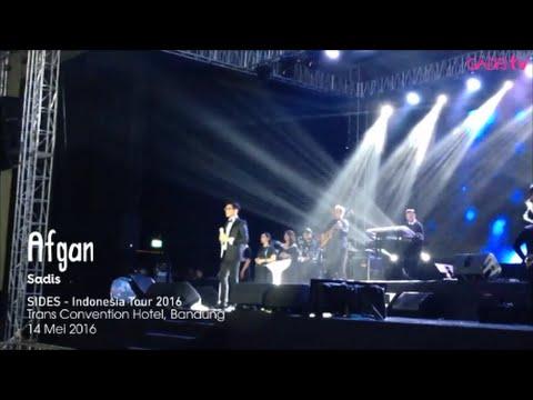 Afgan - Sadis (Live at SIDES - Indonesia Tour 2016)