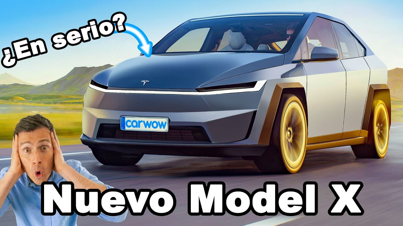 Nuevo Tesla Model X - ¿será un mini Cybertruck?