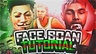 NBA 2K19 3D FACE SCAN GLITCH TUTORIAL!!! • GET ANY MASK ON YOUR MY PLAYER!!!