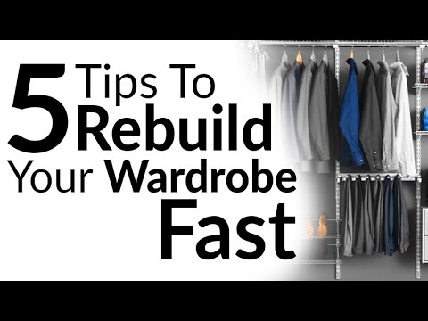 5 Tips To Rebuild Wardrobe FAST Without Wasting Money | Overhaul Style Essentials On Budget