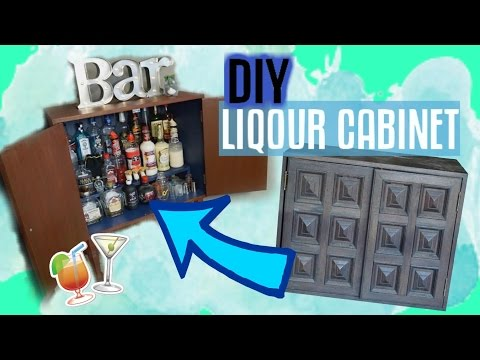 DIY Liquor Cabinet | Restore Old Furniture