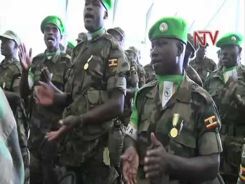 AMISOM Battle Group 8 ends successful Somali Tour of Duty