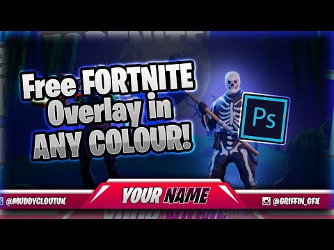 (FREE) FORTNITE Stream Overlay Template (for Twitch/Youtube)