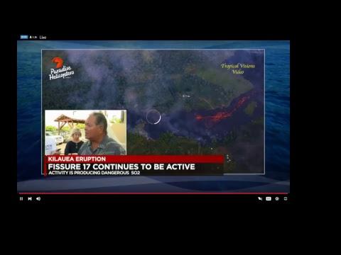 5/13/18 10pm coppertropicals Hawaii Volcano Live Stream
