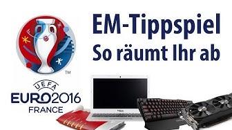 EM-Tippspiel - So räumt Ihr Preise im Wert von 7000€ ab | deutsch / german