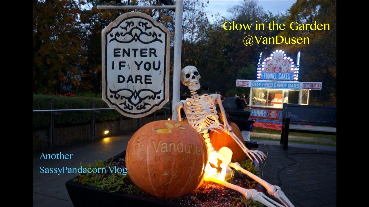 Halloween Vlog At Van Dusen Glow In The Garden 2016