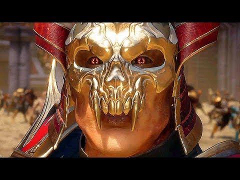 Mortal Kombat 11 - SHAO KAHN All Funny Interaction Intro Dialogues Character Banter (MK11)
