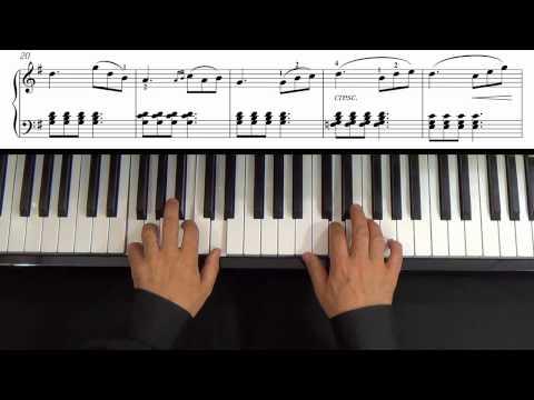 Burgmüller - La Pastorale - Op. 100, No. 3 - Curso de piano