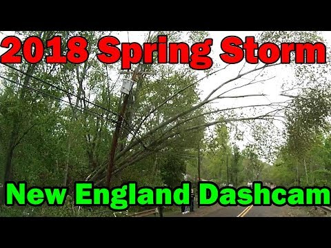 5/15/2018 Wind, Hail and Tornado Storm Damage....North Haven, CT
