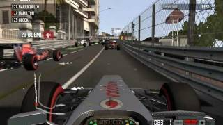 F1 2011 PC Benchmark Test - Gigabyte 9800GT 512MB MIN - MAX Settings