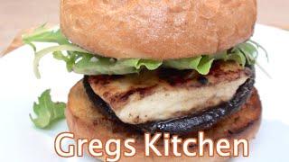 Vegetarian Hamburger - Halloumi And Mushroom