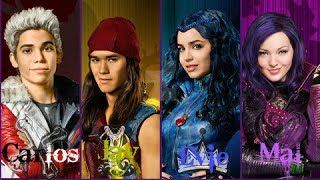 descendants 2 real name and age