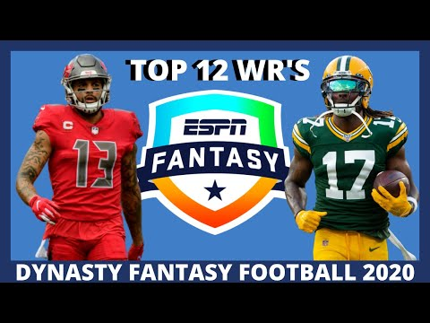 2020 Fantasy Football Dynasty: Top 12 Wide Receivers (WR Rankings)