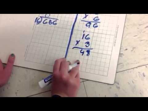 how to teach long division to fourth graders