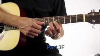 Repeat youtube video How To Play Somebody That I Used To Know by Walk Off The Earth (Guitar Tutorial).mp4