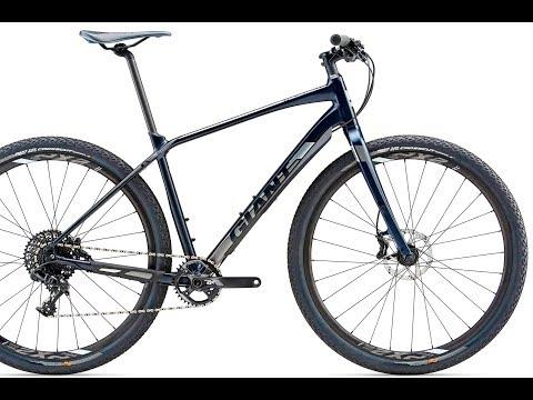 2018 Giant Toughroad SLR 0 Hybrid Bike - YouTube