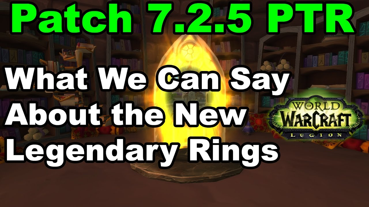 Ptr Legendary Rings